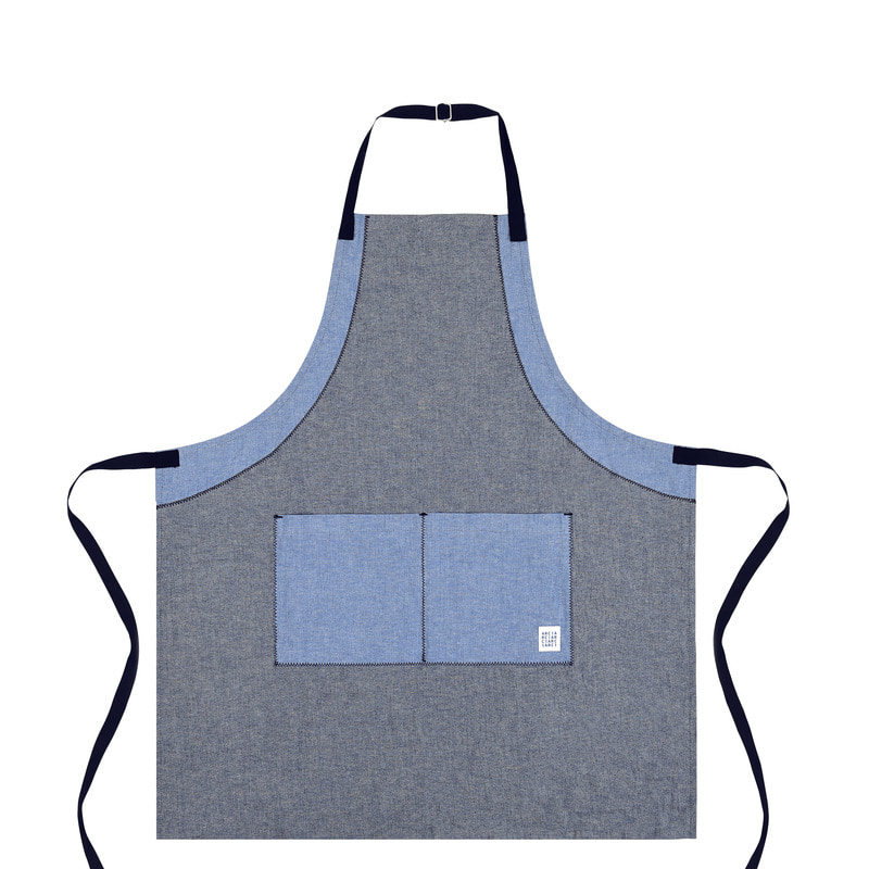 Zigzag apron_Middle [ARC2711M]