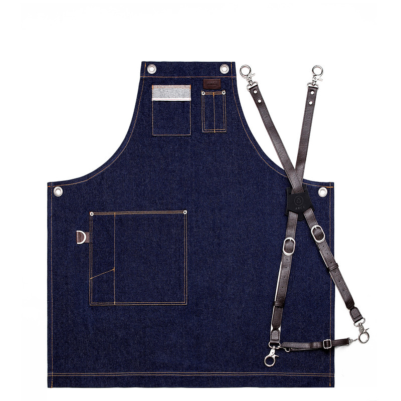 Denim Chest two-pocket_navy[ARC1111]